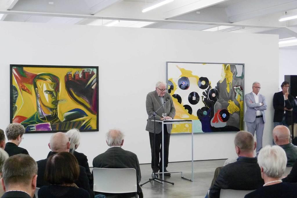WELTENWECHSEL, 2015, Kunstverein Reutlingen, Einführung Dr. Eduard Beaucamp
