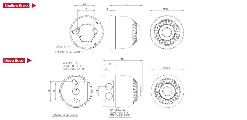 sonos wiring diagram r33 skyline ignition beacon - ceiling en54-23 beacons & sounder klaxon signalling solutions