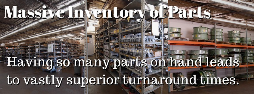 On hand parts for Torque Converter Repair or Replacement