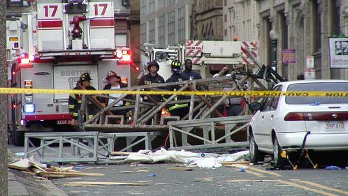 Crane Accident in Boston: April, 2006