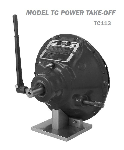 TC113 spring loaded Twin Disc power take-off