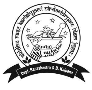 RASASHASTRA & BHAISAJYA KALPANA