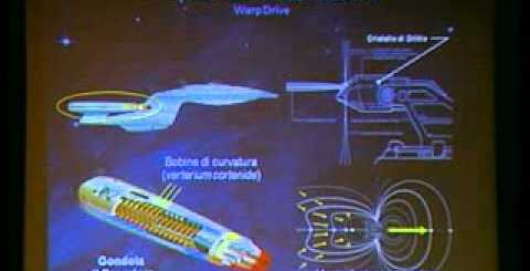 screenshot propulsione a curvatura warp drive star trek