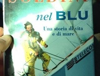 """foto della copertina di Giovanni Soldini """"Nel Blu"""""""