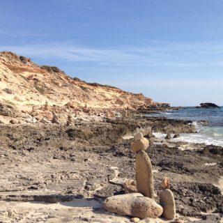 Fotografia di una spiaggia di Formentera