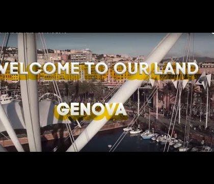 Genova dall'alto! Un video che rende la bellezza di Genova