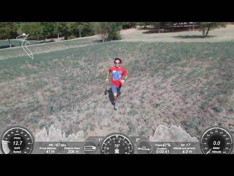 """VIDEO Drone Parrot Bebop 2 """"Follow Me"""" test..."""
