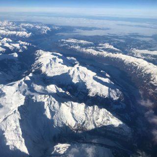 Montagne in volo tra Manchester e Bergamo by Stephen Kleckner