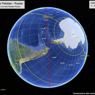 Rotta possibile Pakistan - Russia by Stephen Kleckner 2