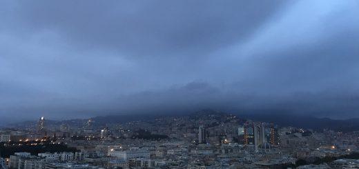 Foto di Genova, durante allerta meteo del 21 ottobre 2019