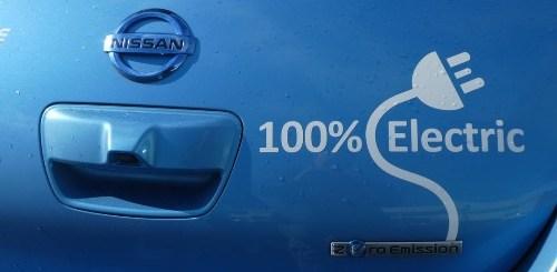 Nissan 100% elettrica