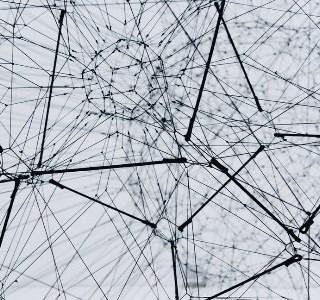 Rappresentazione fantastica di una rete neurale
