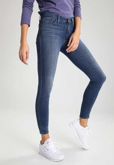 Skinny jeans broekmaten