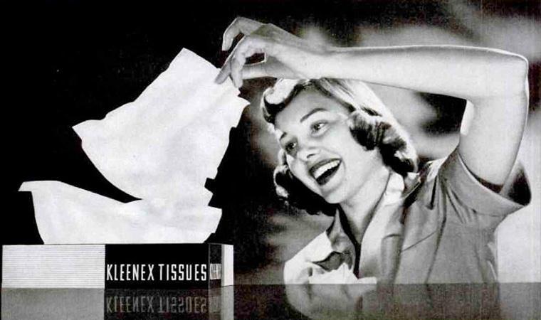 Resultado de imagen de foto de la historia de kleenex