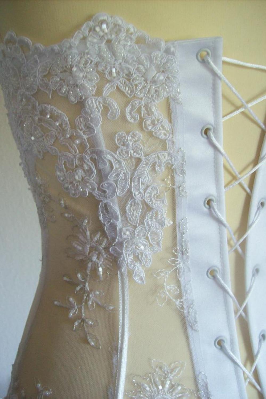 transparentes Brautkleid  Kleiderfreuden