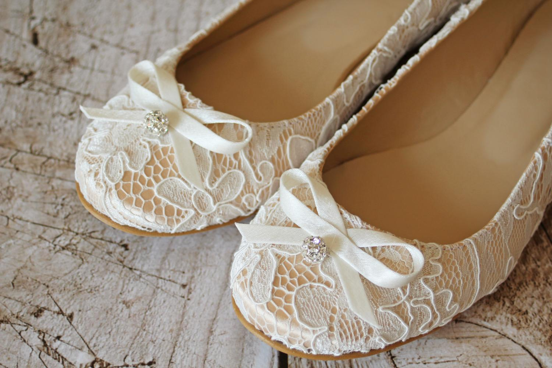 Braut Ballerinas