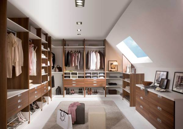Storage Closet with Sloped Ceiling Ideas