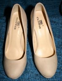 Kleiderkorb.de :: Tolle Cremefarbene High Heels Gr. 39