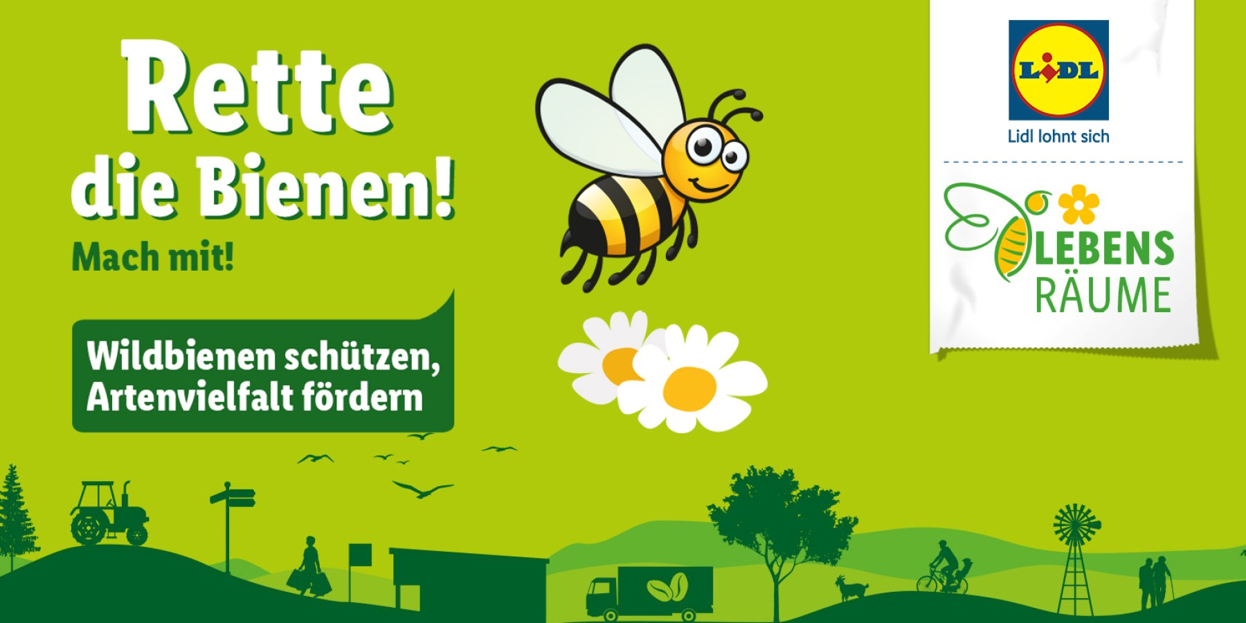 """""""Rette die Bienen!"""": Weltbienentag und aktiver Artenschutz"""