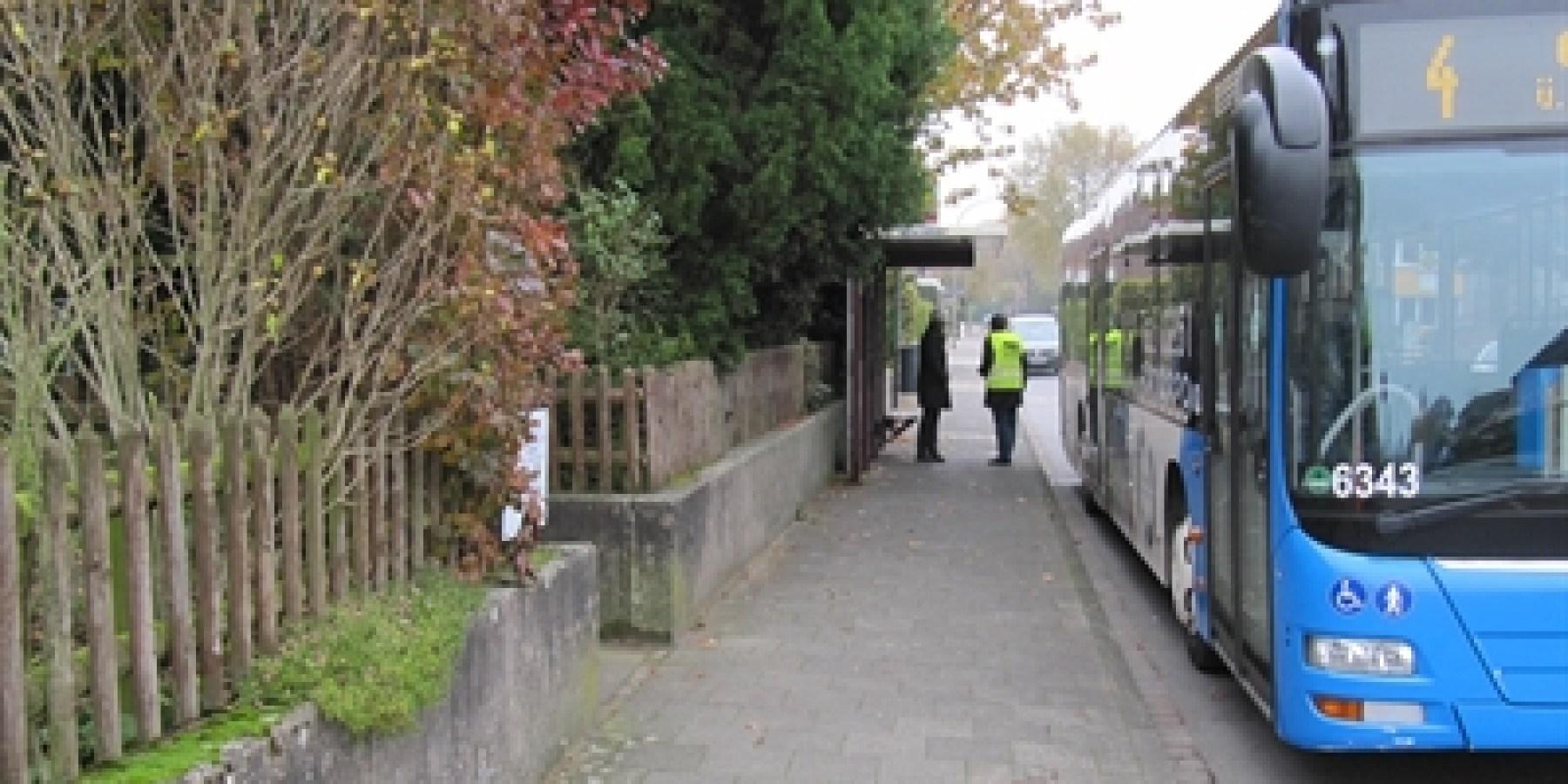 Haltestelle Gittruper Straße wird barrierefrei