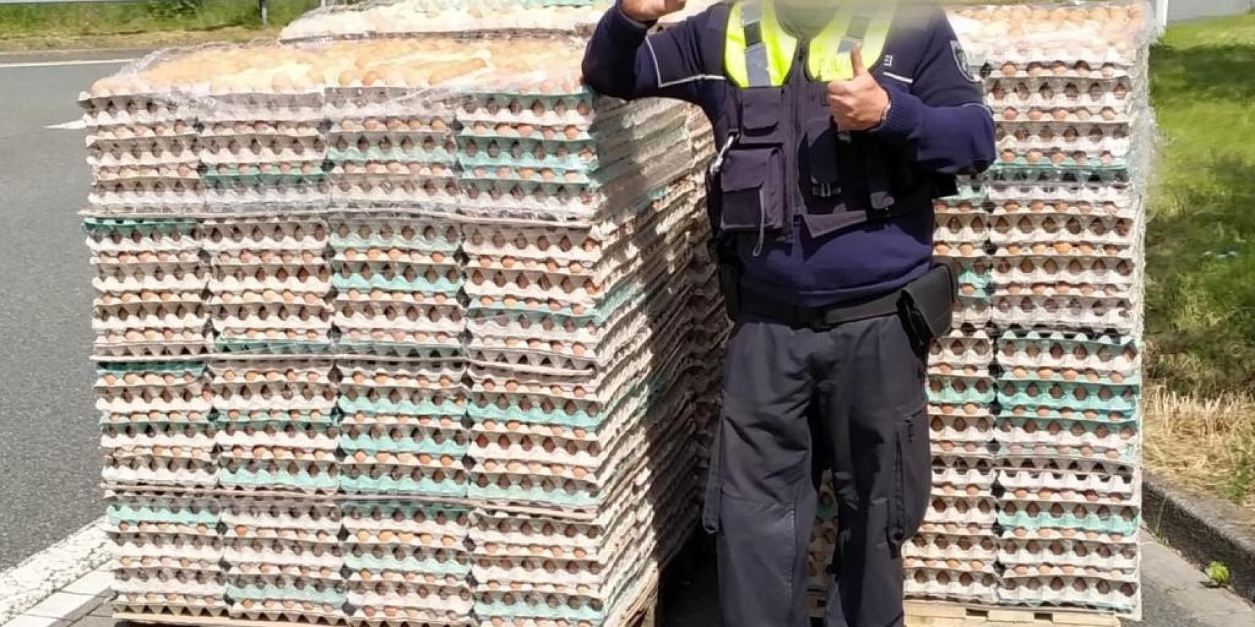 Die Retoure vom Osterhasen zu schwer – 7,5-Tonner um 41 Prozent überladen