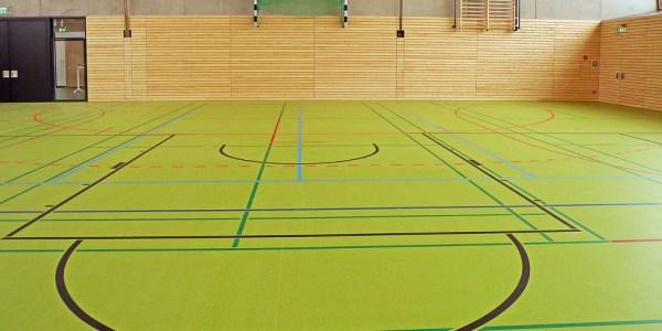 Dreifach-Sporthalle Wolbeck: Boden wird im Oktober erneuert