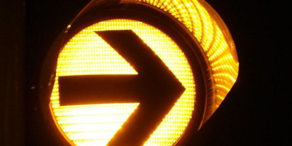 Abbiegeunfall – Radlerin leicht verletzt