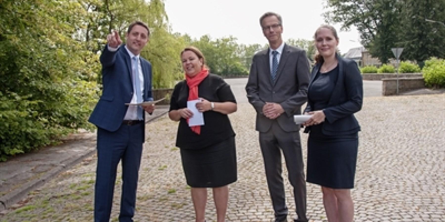 1,6 Millionen Euro für eine klimaangepasste Entwicklung des Oxford-Quartiers