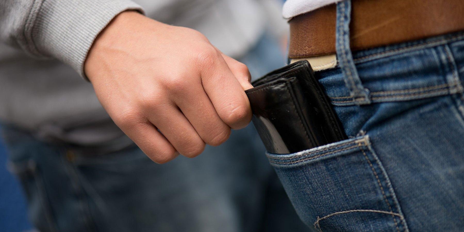 Taschendiebe in der Innenstadt unterwegs