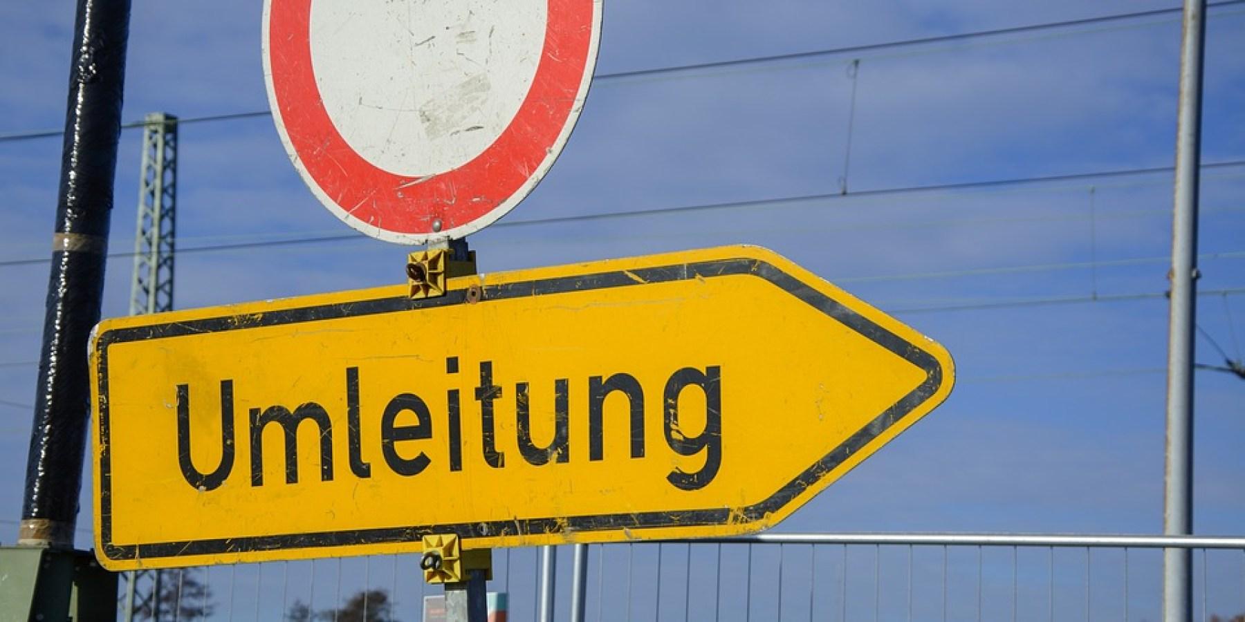 Vollsperrung Himmelreichallee – Umleitung Linie 14