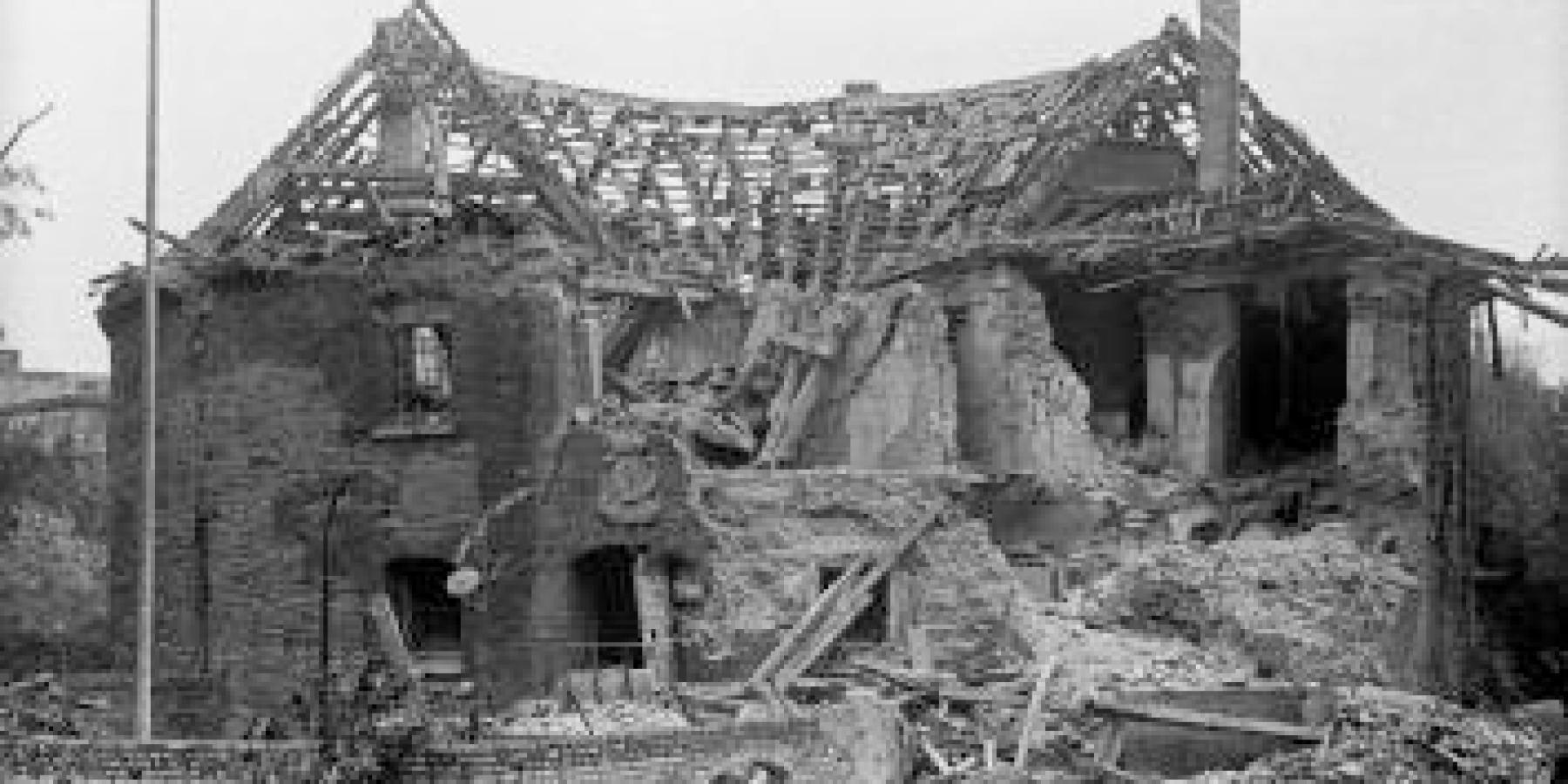 Der Zwinger in der Nazi-Zeit