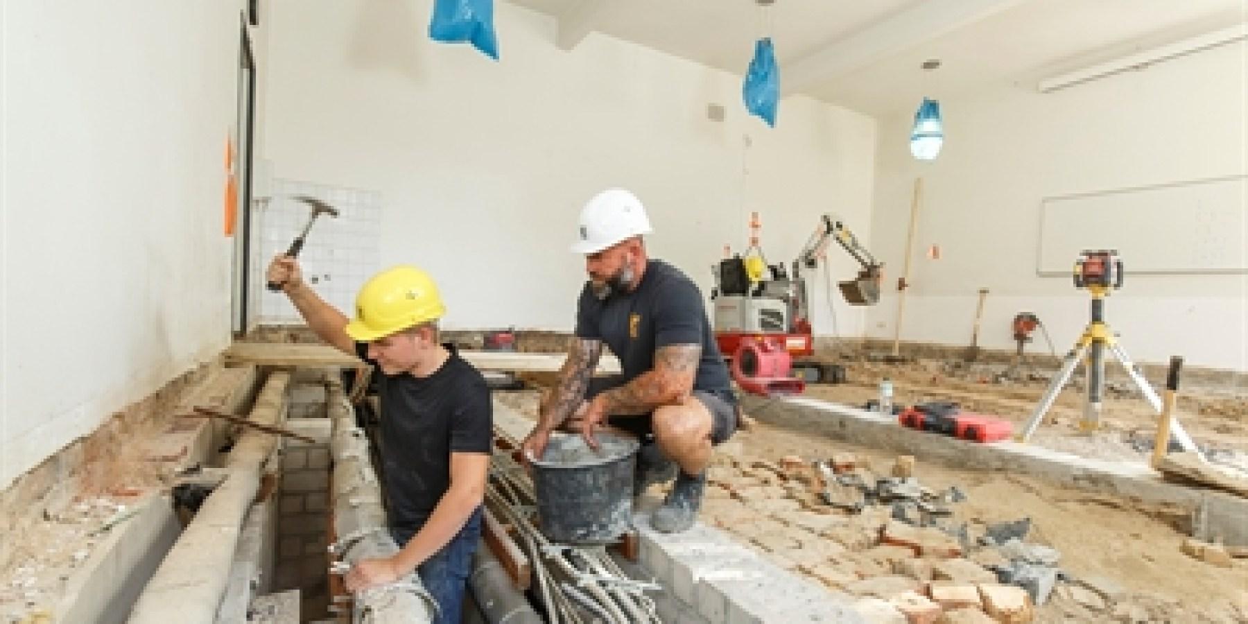 Paul-Schneider-Grundschule: Sanierung von Kopf bis Fuß