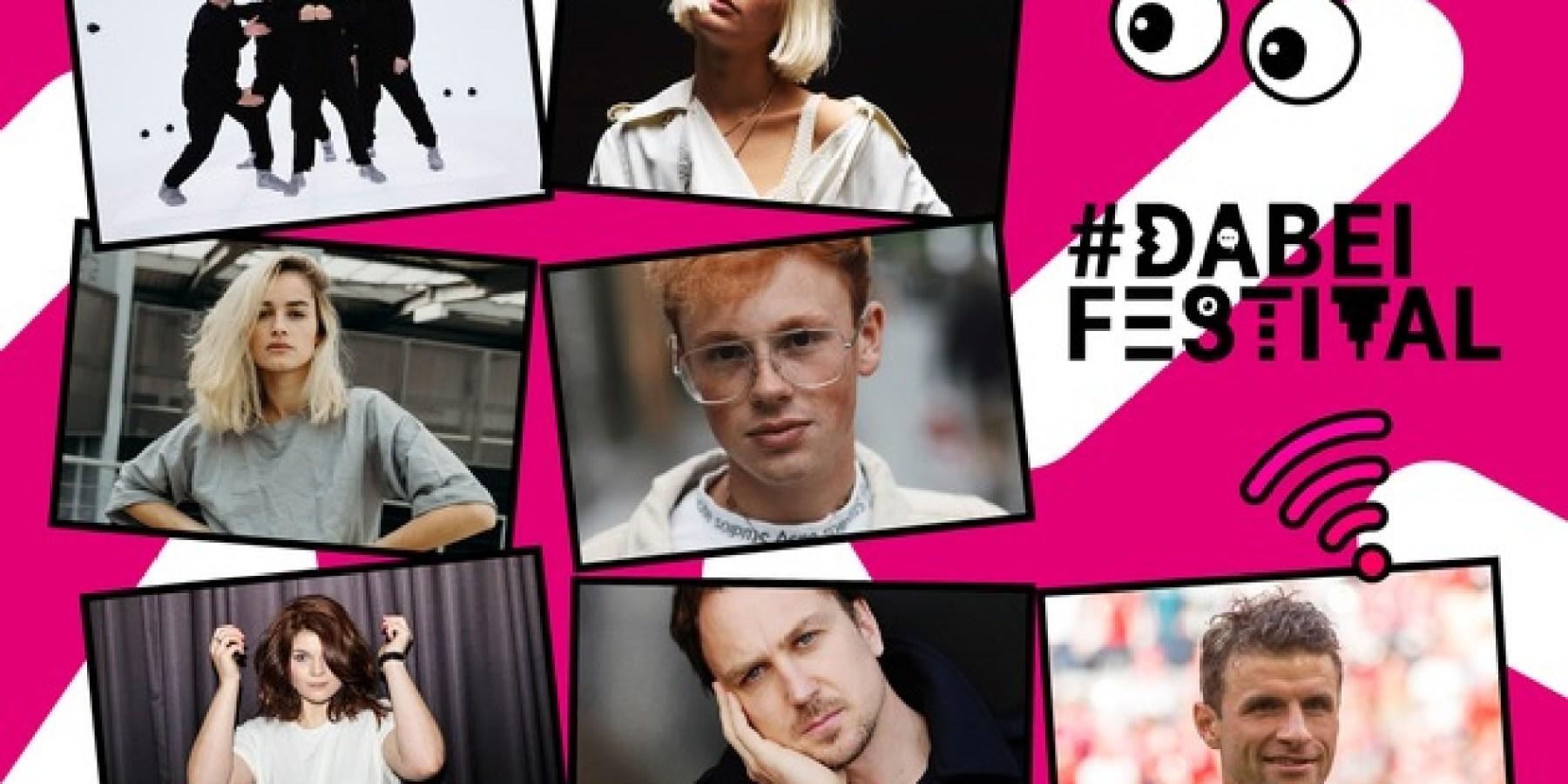 Telekom veranstaltet erstmals #DABEI Festival auf der IFA