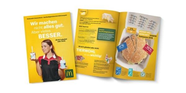 McDonald's setzt auf weniger Plastik- und Verpackungsmüll