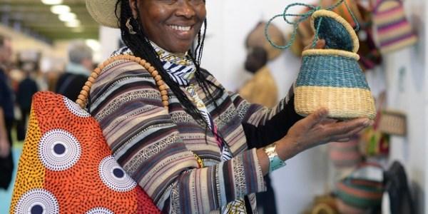 Aussteller aus 60 Ländern beim Bazaar Berlin unterm Funkturm