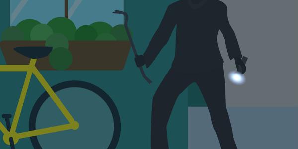 Einbruch in der Nacht – Sporttasche voller Diebesgut