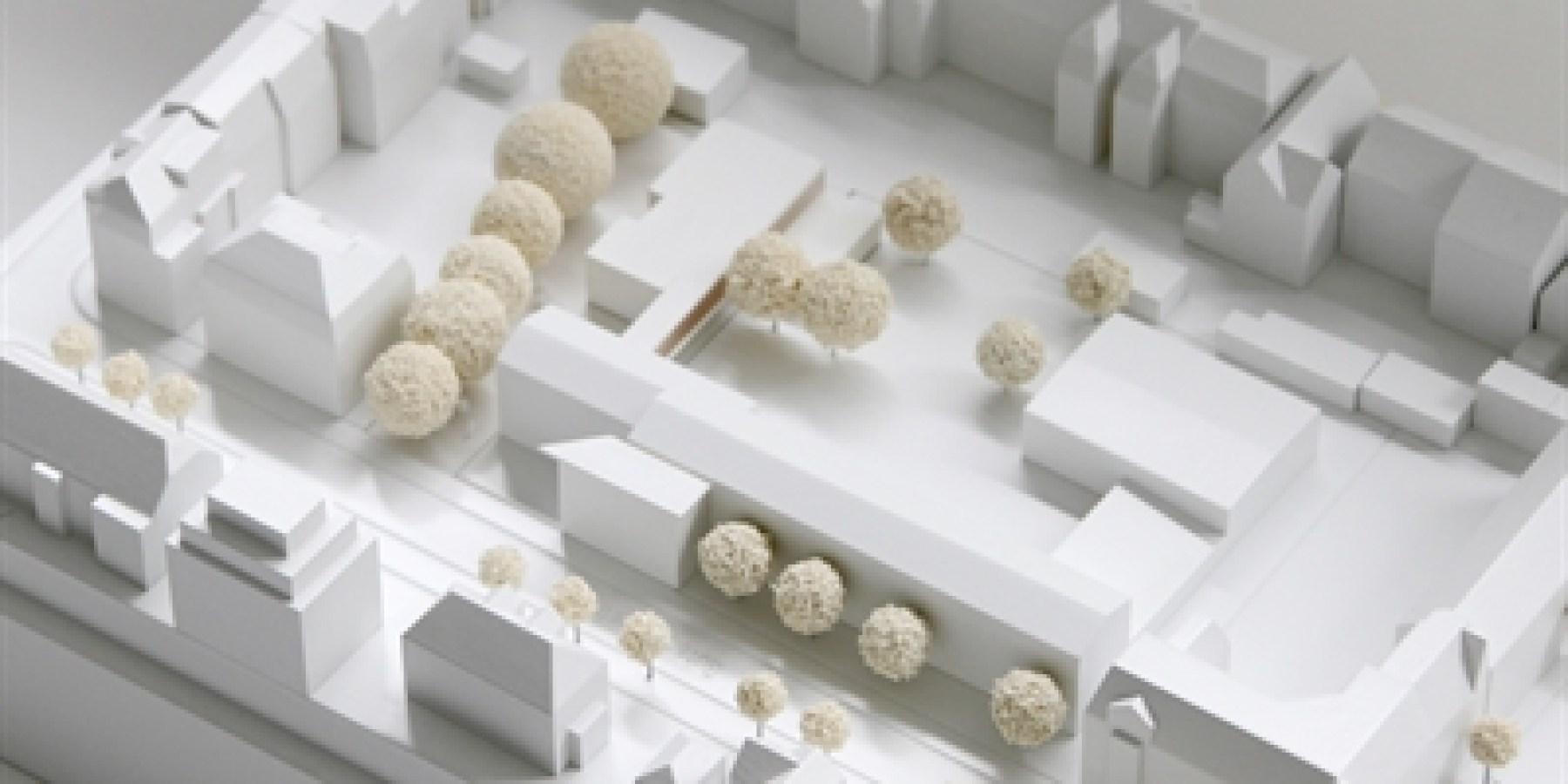 Entwürfe zum Ausbau der Bodelschwinghschule