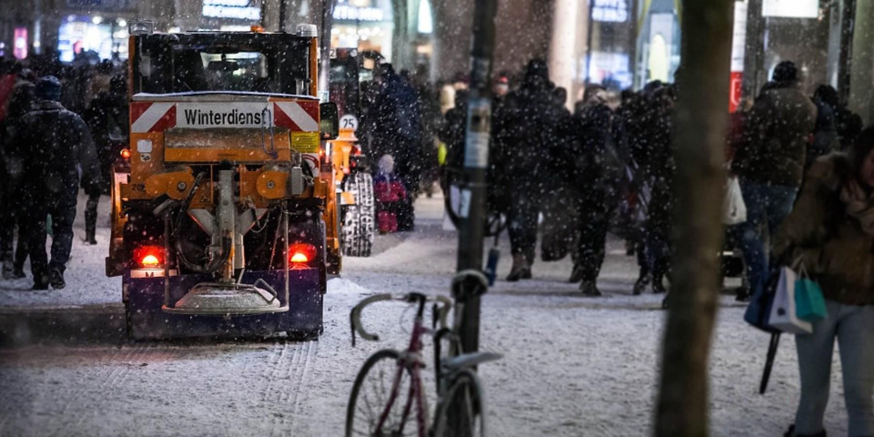 AWM-Winterdienst ist startklar
