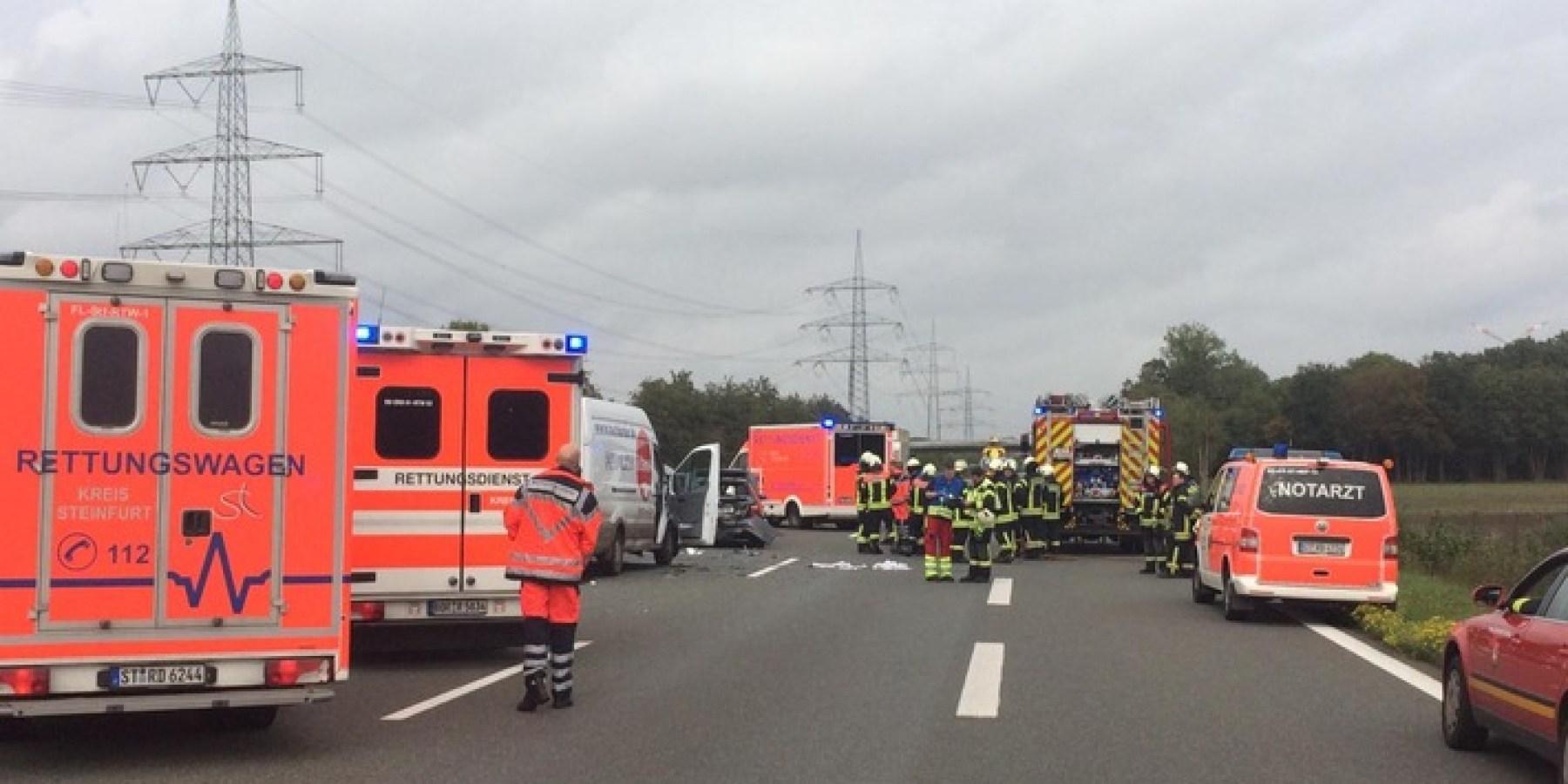 Bild zum Stauend-Unfall auf der A 31