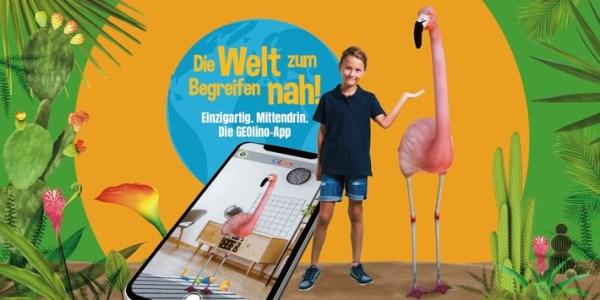 GEOLINO und Inception starten einzigartige Augmented Reality-App für junge Entdecker