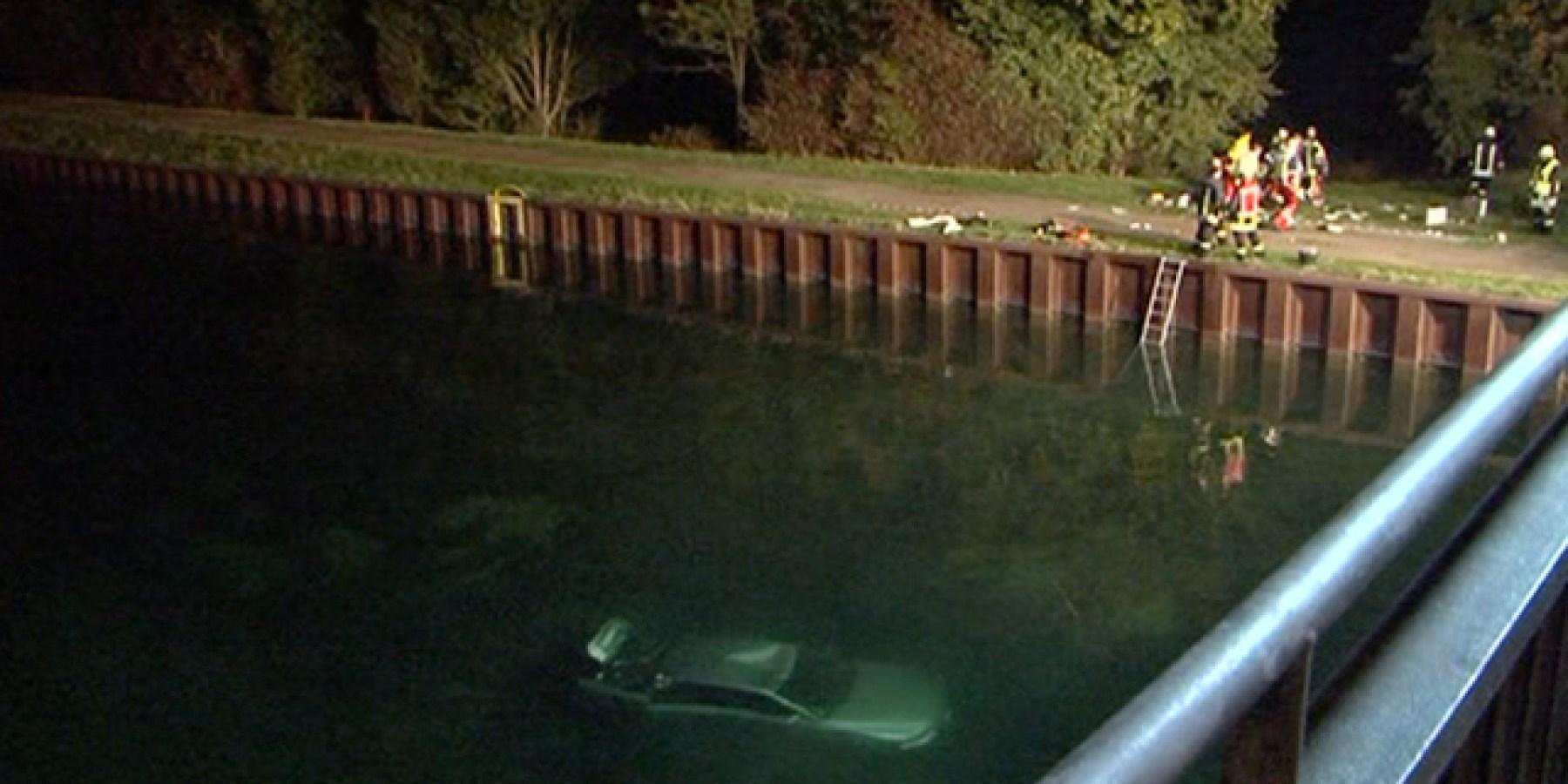 Einbrecher versenken Auto im Kanal