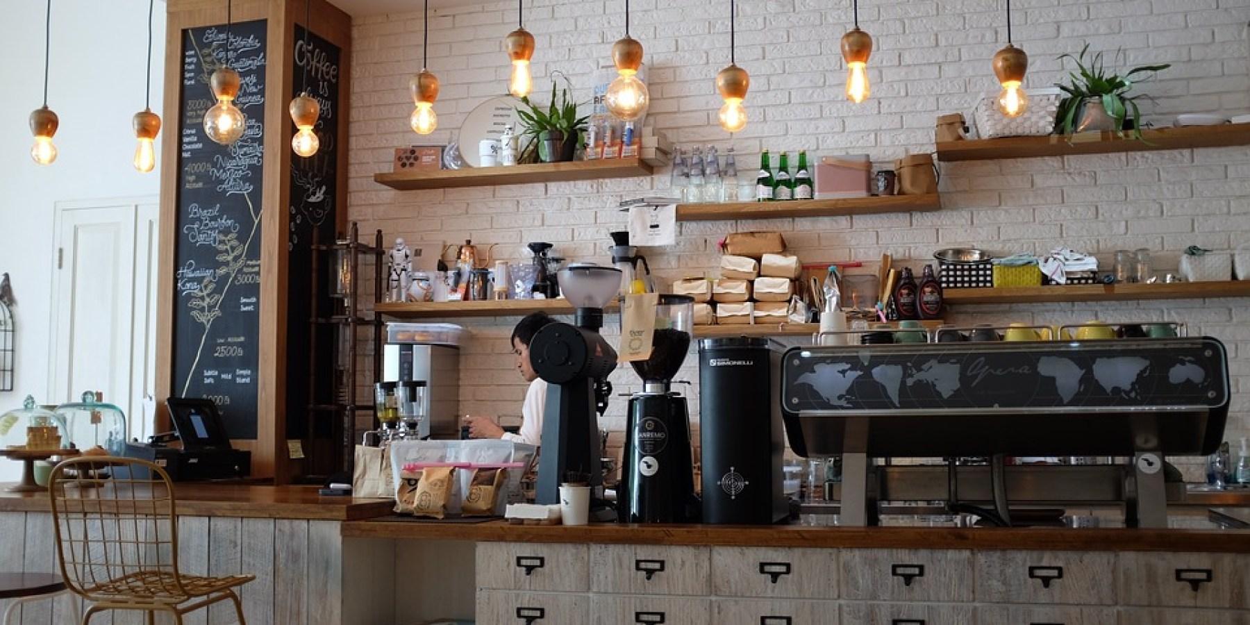 Einbruch in ein Café am Germania Campus