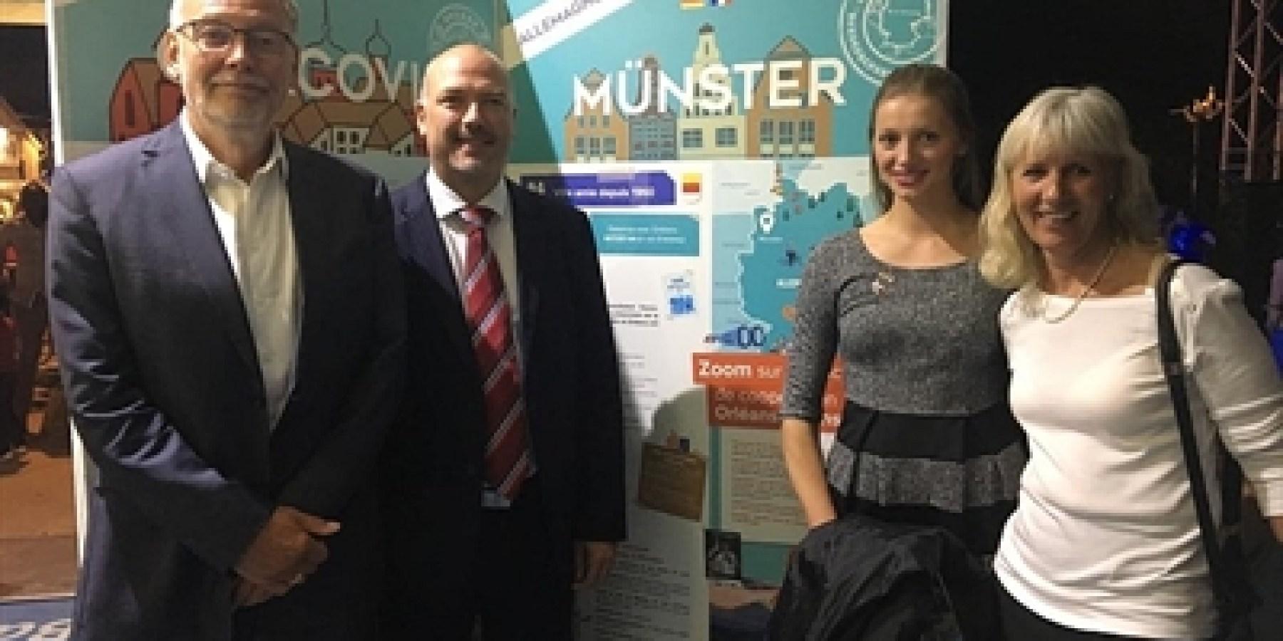 Münster und Orléans bald 60 Jahre Partner