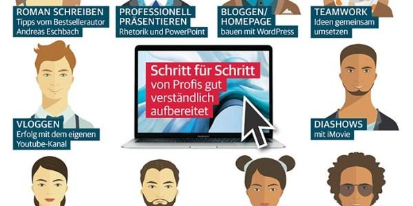 Tipps und Workshops für produktives Arbeiten am Mac und PC