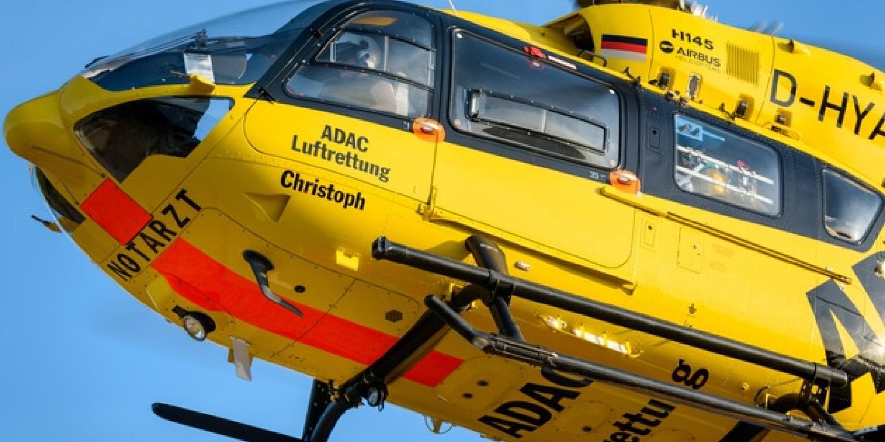 """Schon mehr als 300 Notfalleinsätze von """"Christoph 66"""""""