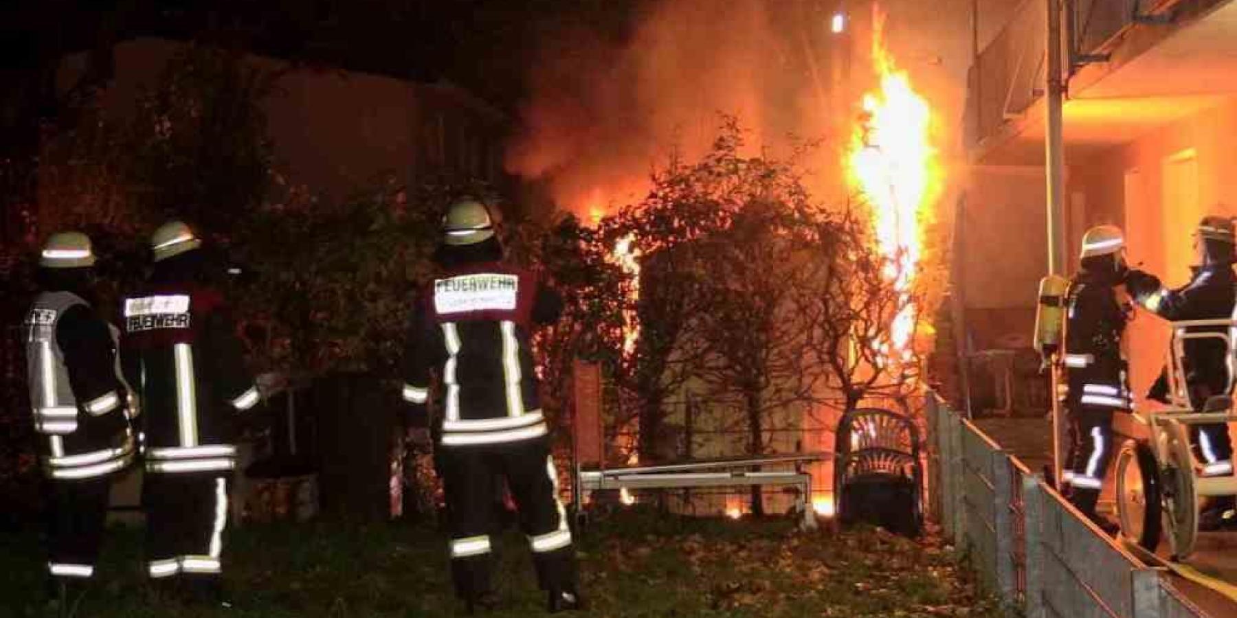 Brand in Wohnhaus in Emsdetten – Elf Personen verletzt