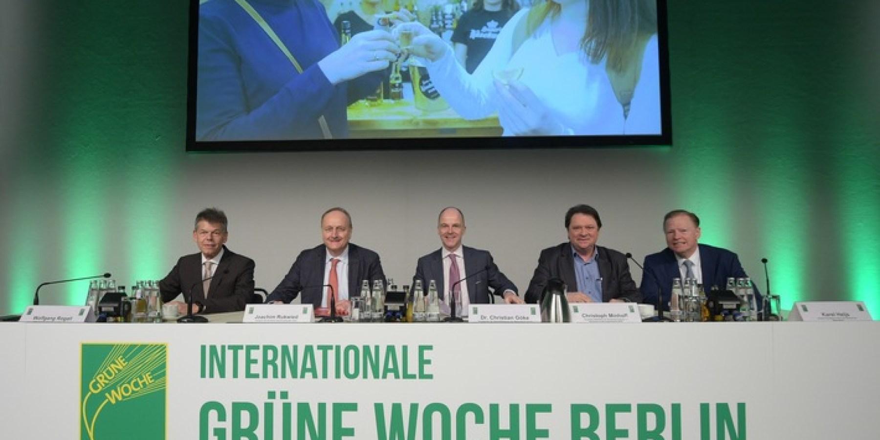 Eröffnungsbericht: Grüne Woche 2020 im Zeichen der Klimadebatte