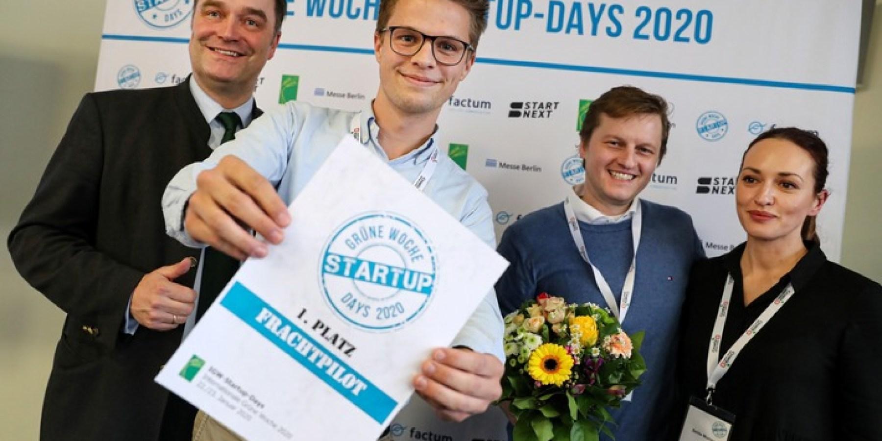 Grüne Woche 2020: Sieger der Startup-Days gekürt