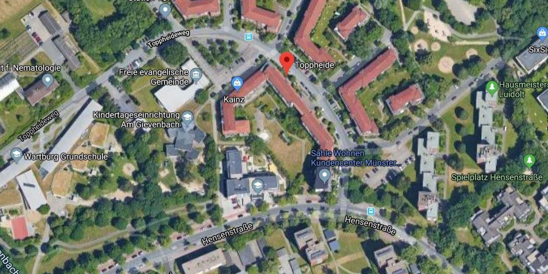 Neues Wohnquartier in Gievenbeck-Toppheide