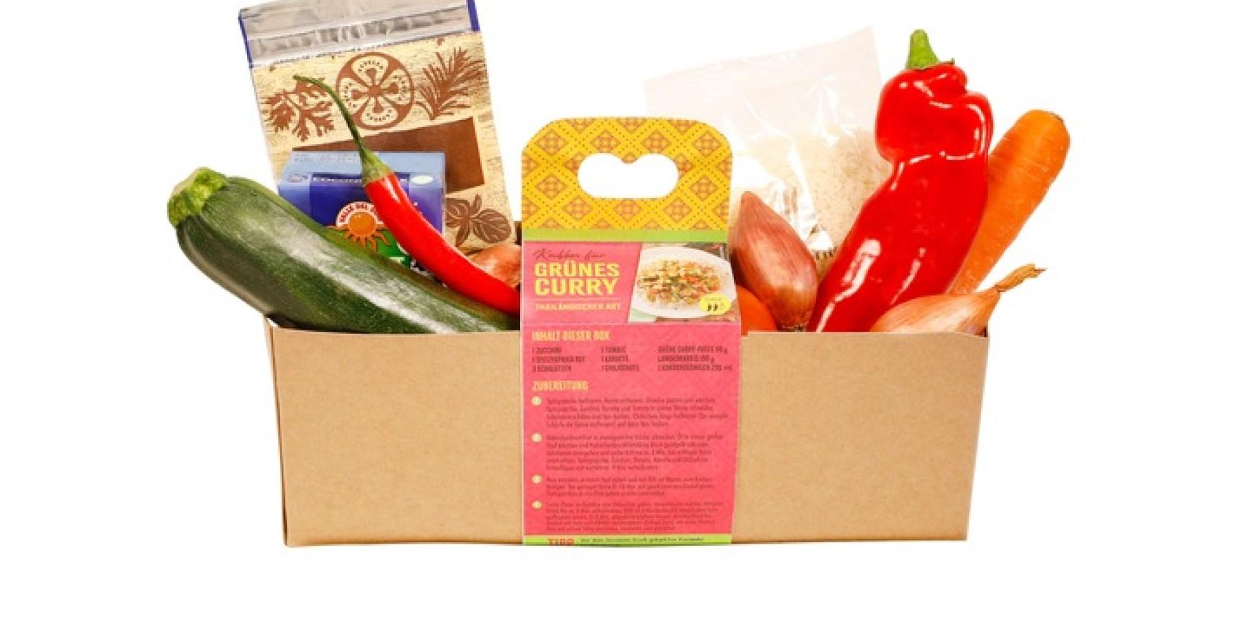 Eine ganze Mahlzeit in einer Box – ALDI SÜD bringt Kochboxen in die Filialen